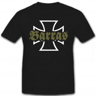 Barras Militär Armee Bundeswehr Bw Wehrpflicht EK Soldat - T Shirt #8521