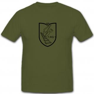 7./JG1 7.Staffel Jagdgeschwader 1 Luftwaffe WK 2 Wh Wappen Emblem T Shirt #4639