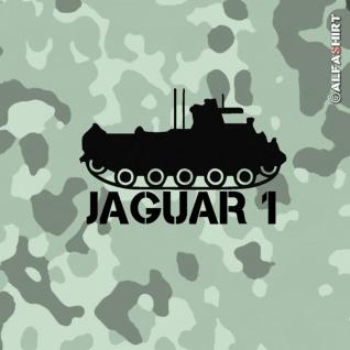 Aufkleber/Sticker Jagdpanzer Jaguar 1 Militär HOT Lenkflugkörper 10x6, 5cm #A415