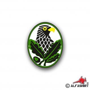 Aufkleber/Sticker Scharfschützenabzeichen Abzeichen Soldat 7x6cm A747