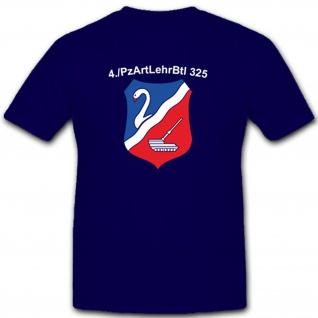 4kp PzArtLehrBtl 325 Bundeswehr Deutschland Militär Wappen - T Shirt #7985
