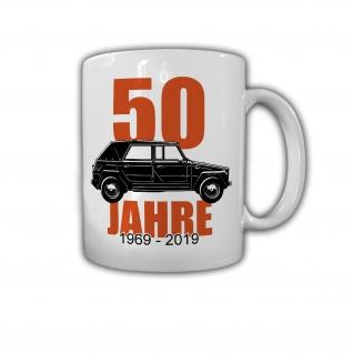 50 Jahre Kübel 181 Kübelwagen Treffen Oldtimer BW Zivil - Tasse #26670