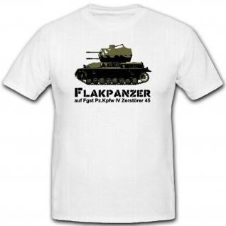 Flakpanzer Vi Zerstörer 45 Wh Reichsverteidigung Deutschland T Shirt #3103