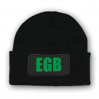 Mütze/Beenie - EGB Erweiterte Grundbefähigung Ranger SOF Spezialkräfte - #10309m