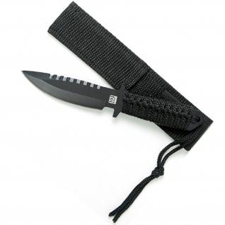 Tactical COMBAT KNIFE schwarz Messer Stiefelmesser US Bundeswehr #13403