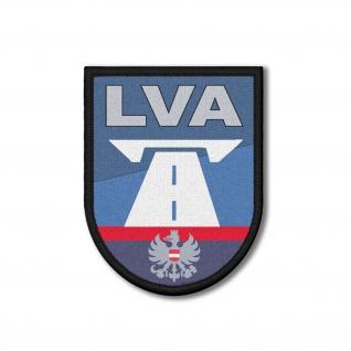 Patch LVA Österreich Landesverkehrsabteilung Polizei Abzeichen 9x7cm #31361