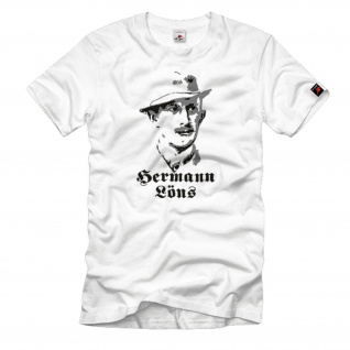 Hermann Löns Journalist Schriftsteller Mythos Heidedichter T Shirt #1107