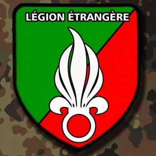 Patch / Aufnäher - Légion étangère Französische Fremdenlegion Wappen #4863