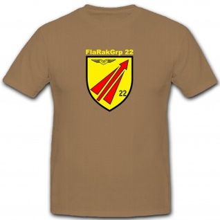 FlaRakGrp 22 - Bundeswehr Militär Flugabwehr Raketen- T Shirt #7781