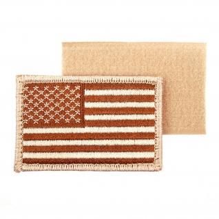 USA Desert Flag Amerika FLAGGE Fahne Wüsten Aufnäher Uni - Aufnäher Patch #17402