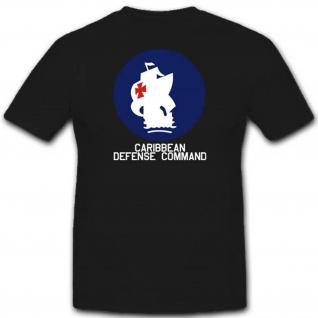 Caribbean Defense Command Einheit Militär Kommando Wk - T Shirt #3075