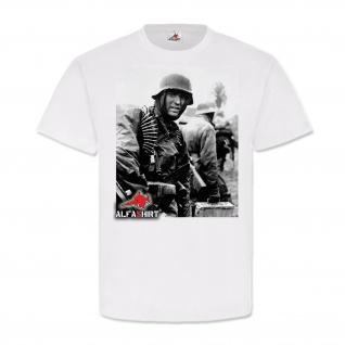 Elite Ardennen Offensive 1944-1945 Alfashirt Division WK2 Soldat T Shirt #20251