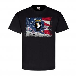 Airborne Legends Us Airborne Divisionen 101st Fallschirmspringer T Shirt #21439