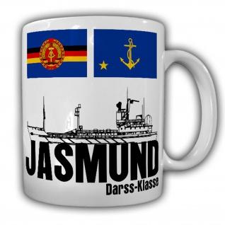 Jasmund_Schiff DDR NVA Marine Darss-Klasse Vierte Flottille Stasi - Tasse #13453