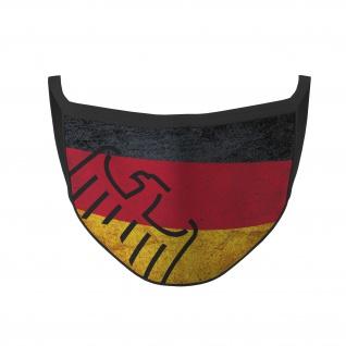 Mundmaske Deutschland Republik BRD Bundes Adler Flagge Nasen Bedeckung #35767