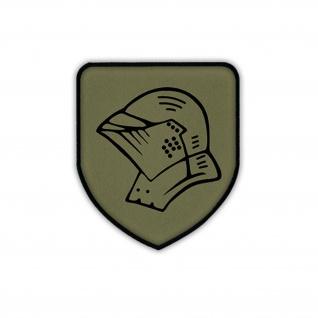 Patch PzGrenBtl 223 Helm Panzergrenadierbataillon 223 BW Wappen Aufnäher #17880