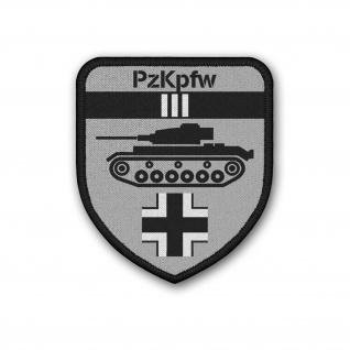 Patch PzKpfw III Panzer 3 Aufnäher#37160