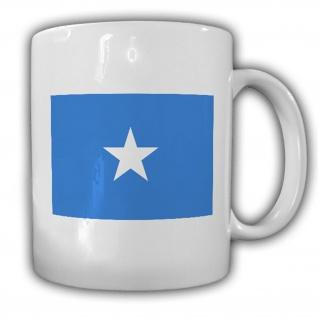 Tasse Bundesrepublik Somalia Mogadischu Fahne Flagge Kaffee Becher #13906