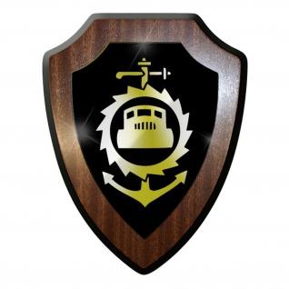 Wappenschild / Wandschild -Pionier Btl 11 NVA DDR Deutsche Demokratische #9664