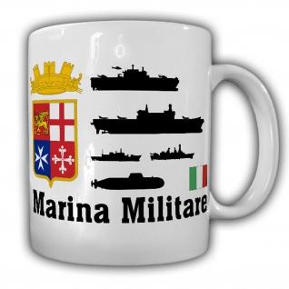 Marina Militare italiensche Marine Italien Armee Wappen Abzeichen Tasse #18227