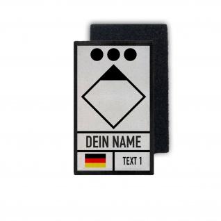 Patch Zugführer Feuerwehr Rettungsdienst Leitstelle Brandwache Klett # 35677