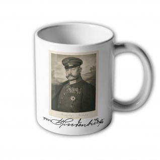 Paul von Hindenburg Berlin Reichspräsident Autogram - Tasse Becher Kaffee #33357