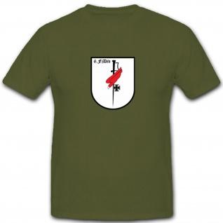 6 FjDiv Fallschirm Division Militär Abzeichen Wappen - T Shirt #4396