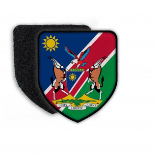 Patch Landespatch Namibia Wimdhoek Englisch Geingob Landesfahne Wappen #21949