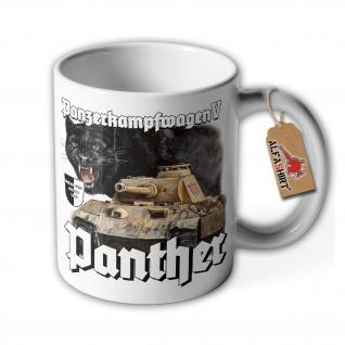 Tasse Lukas Wirp Panther Gemälde Bild Zeichnung Panzer Druck Maler Kunst #36776