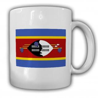 Tasse Königreich Swasiland Fahne Flagge Kaffee Becher #13930