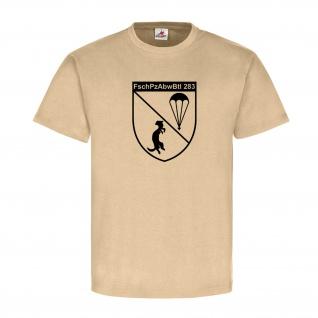 FschPzAbwBtl 283 KRK-Bundeswehr Krisenreaktionskräfte Fallschirm - T Shirt #8185