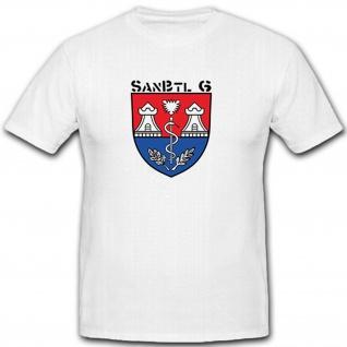 SanBtl 6 Bundeswehr Deutschland Militär Sanitäter- T Shirt #7998