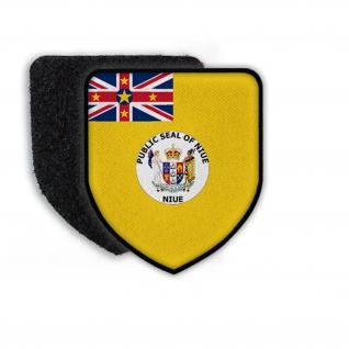 Patch Flag of Niue Flagge Land Staat Wappen Landesflagge Aufnäher #21342