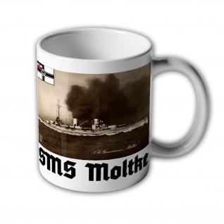 Tasse SMS Moltke Großer Kreuzer kaiserliche Marine Schiff WK 1 #31438