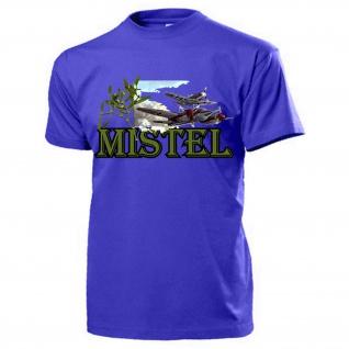 Mistel Mistelschlepp Luftwaffe Flugzeug Bomber Me109 Ju88 - T Shirt #14235