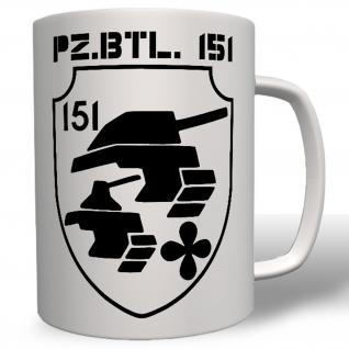 PzBtl 151 Panzerbataillon Panzer Bataillon Wappen Abzeichen Bw - #5583