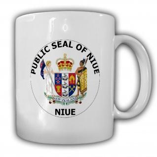 Republik Niue Wappen Emblem Kaffee Becher Tasse #13835
