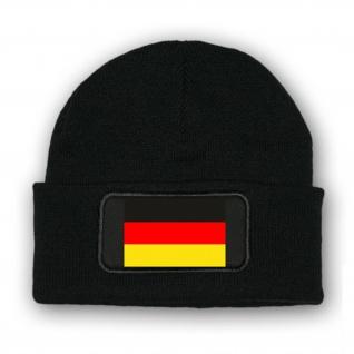 * Mütze / Beenie -Deutschland Fahne Flagge Fahne #7020