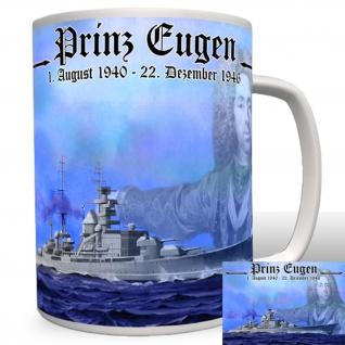 Schwere Kreuzer Prinz Eugen Marine WH Deutschland Schiff - Tasse #2303