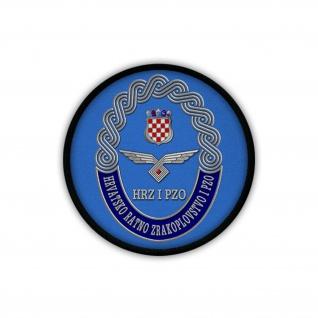 Patch / Aufnäher - Kroatische Luftwaffe HRZ i PZO Luftstreitkräfte Wappen #19235