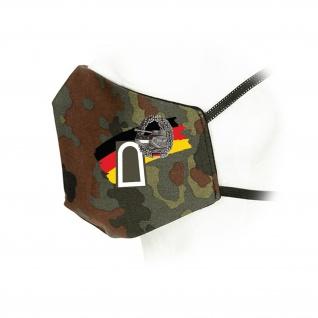 Flecktarn Maske Panzer Panzertruppe Bundeswehr Dienstgrad#35926