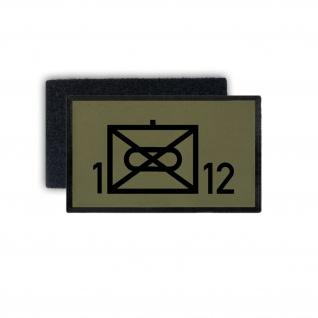 Patch Panzergrenadierbataillon 12 Taktisches Zeichen 7, 5 x 4, 5 #35402