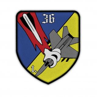 Patch / Aufnäher -1 FlaRak Batterie 36 Bundeswehr Luftwaffe Flugabwehr #14214