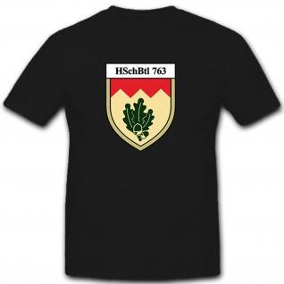 HschBtl 763 Heimatschutzbataillon 762 Bundeswehr Heer - T Shirt #10512
