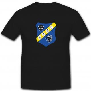 PzBtl 24 Panzer Bataillon Bundeswehr Bw Wappen Abzeichen Emblem - T Shirt #4820