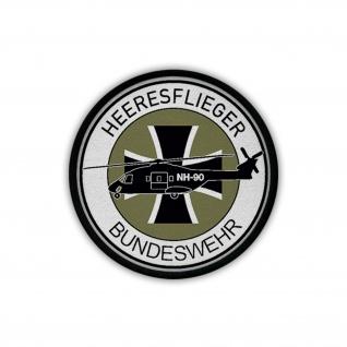 Patch Heeresflieger Bundeswehr NH90 Heer BW Bückeburg Wappen Abzeichen #18164