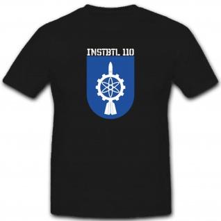 InstBtl110 Instandsetzungsbataillon 110 Militär Bundeswehr Einheit T Shirt#3312