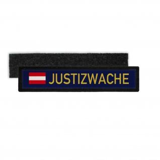 Patch JUSTIZWACHE Österreich Polizei Names Klett Streifen Wien Austria #31890