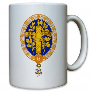 Coat of arms of France Commons Abzeichen Wappen - Tasse #13064