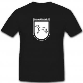 StugBrig Sturmgeschützbrigade 237 Wk Wappen Abzeichen T Shirt #6605